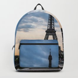 Eiffel Tower Paris Before the Storm Backpack
