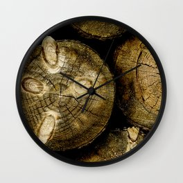 Log Roll Wall Clock