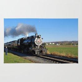 Steam Locomotive Rug