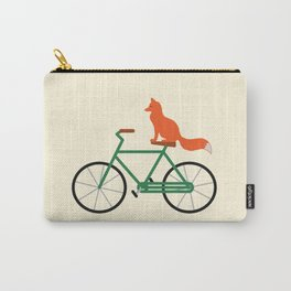 Fox Riding Bike Carry-All Pouch
