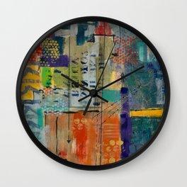 Conversing in Color Wall Clock