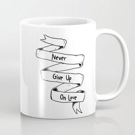 Yuri Pooh-ma (Black & White) Coffee Mug