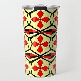 symetric patterns 59 -mandala,geometric,rosace,harmony,star,symmetry Travel Mug