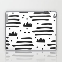 Abstract scandinavian art Laptop & iPad Skin