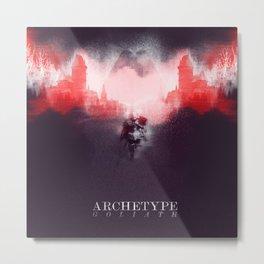 Archetype: Goliath Metal Print