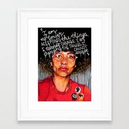 Angela Davis Framed Art Print