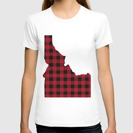 Idaho - Buffalo Plaid T-shirt