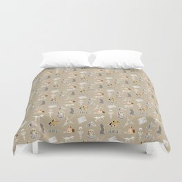Archeo pattern Duvet Cover