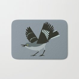 Northern Mockingbird Bath Mat