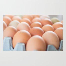 Farm Fresh Eggs Rug