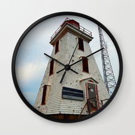 Cape Egmont Lighthouse and Communication Tower Wall Clock