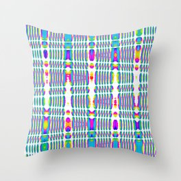 rhombus sky Throw Pillow