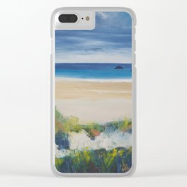 Big Skies Clear iPhone Case