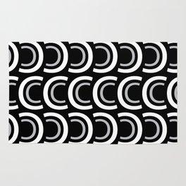C (Black Background) Rug