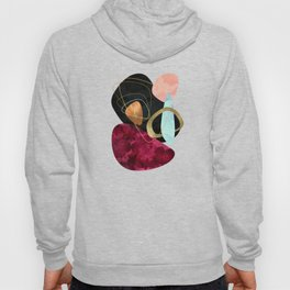 Abstract Pebbles II Hoody