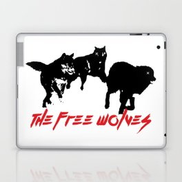 Running Wolves [White] Laptop & iPad Skin