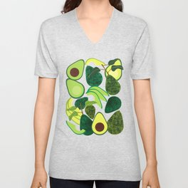 Avocados Unisex V-Neck