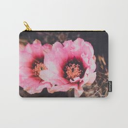 Faded Desert Blooms Carry-All Pouch