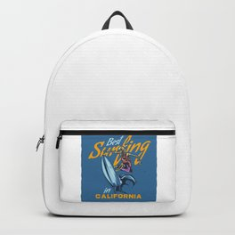 Best Surfing in California Backpack