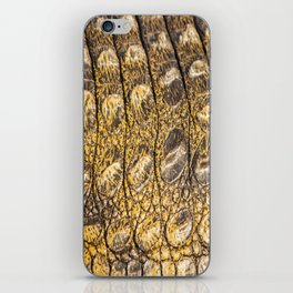 Crocodile Contradiction iPhone Skin