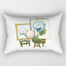 Baby Norman Zombiewell Rectangular Pillow