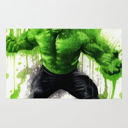 Hulk Splash! Rug