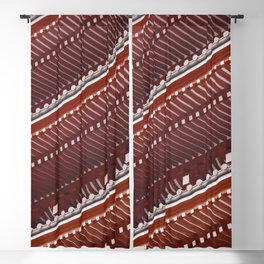 Pagoda roof pattern Blackout Curtain