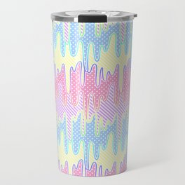 Melty Patterned Slime Travel Mug