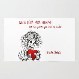Frida Kahlo - Eres mi nada Rug