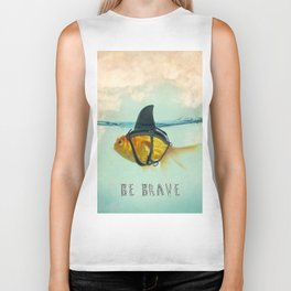 Be Brave - Brilliant Disguise Biker Tank