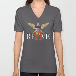 Revive the VI Unisex V-Neck