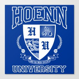 Hoenn University Canvas Print