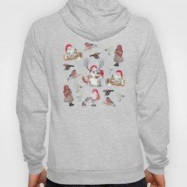 Gnome pattern - Christmas Hoody