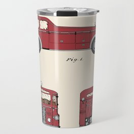 Firetruck Patent - Colour Travel Mug
