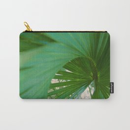 Curvy Fern Jungle Style Carry-All Pouch