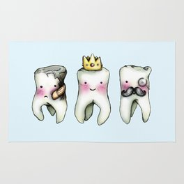 Rotten Tooth, Crowned Tooth and Wisdom Tooth Rug