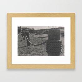 bounded Framed Art Print