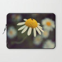 Daisy macro Laptop Sleeve