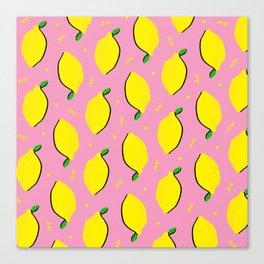 Lemon Squeezy 03 Canvas Print