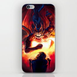 Duel with the Demon iPhone Skin