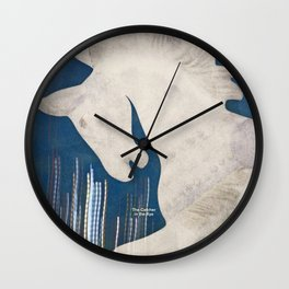 J. D. Salinger's The Catcher in the Rye - Literary book cover design Wall Clock