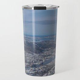 Winter City Travel Mug