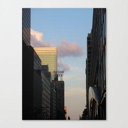 New York City Sky II Canvas Print