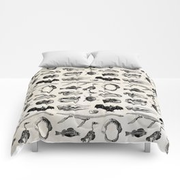 Various Animal Skeletons Comforters