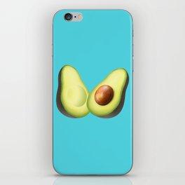 'ave an Avo | Blue iPhone Skin