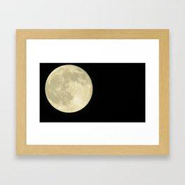 light in the night  Framed Art Print