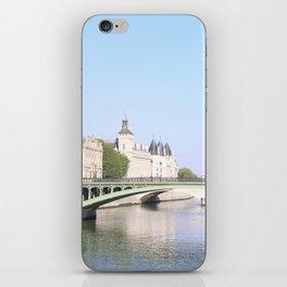 Green bridge of Paris iPhone Skin