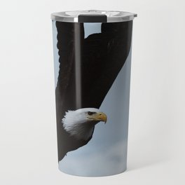Alaskan Bald Eagle Travel Mug