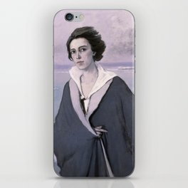 At The Seaside, Self-portrait by Romaine Brooks iPhone Skin