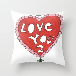 Confessional Throw Pillow